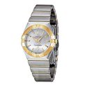 Omega Constellation Silver Dial Stainless Steel Ladies Watch