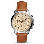 Dark Brown Leather Watch