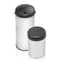 Modernhome Touch-Free Stainless Steel Trashcan Set (2-Piece)