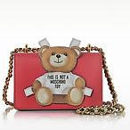 Moschino 红色泰迪熊包