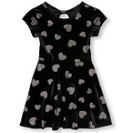 Girl's Heart Print Dress