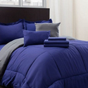 Hotel New York Reversible Bed-in-a-Bag Comforter and Sheets (9-Piece Set)