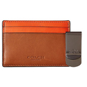 COACH Men's ID Card Case and Money Clip Set