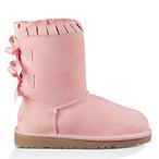小童款 Bailey Bow Ruffle 短靴