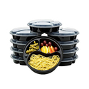 Reusable Food Storage Container Set (20-Pieces)