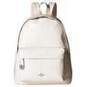 Coach Embossed Croc Campus Backpack