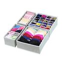 SimpleHouseware Closet Underwear Organizer Drawer Divider 4 Set