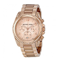 Michael Kors Blair Chronograph Rose Dial Ladies Watch
