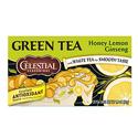 Celestial Seasonings Honey Lemon Ginseng Green Tea 20 Count - Pack of 6
