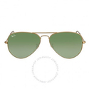 Ray Ban Aviator Classic Green Sunglasses
