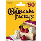 $50 The Cheesecake Factory GC