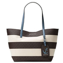 MICHAEL MICHAEL KORS Two-Tone Canvas Tote