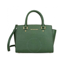 Michael Kord Selma Leather Satchel