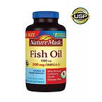 2瓶深海鱼油Omega-3 软胶囊