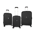 SwissGear Black Polypropolene Hardside Spinner Luggage