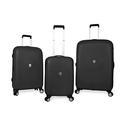 SwissGear Black Polypropolene Hardside Spinner Luggage