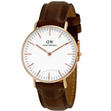 Daniel Wellington Classic Bristol White Dial Ladies Watch