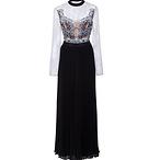 Moni Lace Pleated Dress