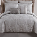 Rennes Bubble Jacquard Comforter Set (8-Piece)