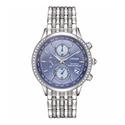 Citizen Eco-Drive Women's World Chronograph A-T Blue Dial Watch
