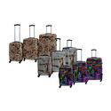 Rivolite Hardside Printed Expandable Luggage Set (3-Piece)