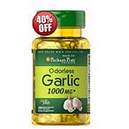 3 Odorless Garlic