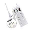 BESTEK 8-Outlet Surge Protector Power Strip