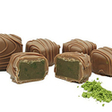 Philadelphia Candies Japanese Matcha Green Tea Meltaway Truffles