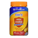 Ester-C Vitamin C, Immune Charge Gummies, 45 Count