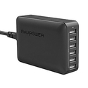 RAVPower 60W 12A 6-Port USB Charger Desktop