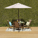 5Pc Outdoor Oasis Newberry Dining Set