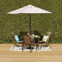 Oasis Newberry 户外餐桌椅5件套