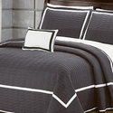 6- or 8-Piece Brandyn Two-Toned Quilt Set