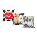 LiLiPi Fashion Art Accent Pillows by Jodi