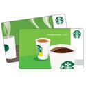 Starbucks: 送朋友$5礼卡即可免费获得$5礼卡