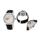 Stührling Original Men's Open-Heart Automatic Dress Watch