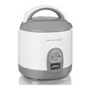 Hamilton Beach Rice Cooker with Rinser/Steam Basket