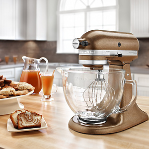 KitchenAid Artisan KSM150PS 5-qt. 直立搅拌机