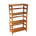 Winsome Wood 4-Tier Bookshelf