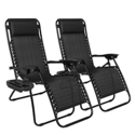2 Best Choice Products Zero Gravity Chairs