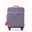 经典尼龙条纹行李箱
