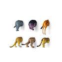 Kikkerland Safari Animal Butt Magnets Set of 6