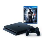 Sony PS4 Slim 神秘海域4游戏机套装