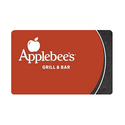 价值$50 Applebee's Bar & Grill 礼卡