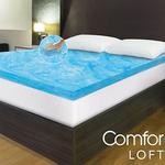 Beautyrest ComforPedic Loft 凝胶记忆海绵薄床垫 低至$39.99