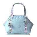 Kipling Art U Solid Crossbody Tote with Printed Straps