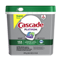 Cascade Platinum ActionPacs Dishwasher Detergent 62 count