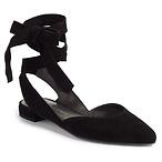 Supersonic 绑带平底鞋