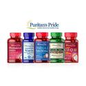 Puritan's Pride: $10 OFF $60 or $15 OFF $80 Puritan's Pride Brand Items