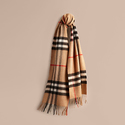 Jomashop: Burberry Cashmere Scarf Up to 46% OFF